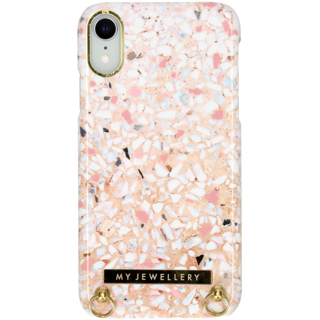 My Jewellery Design Hardcase Koordhoesje iPhone Xr - Pink Brick