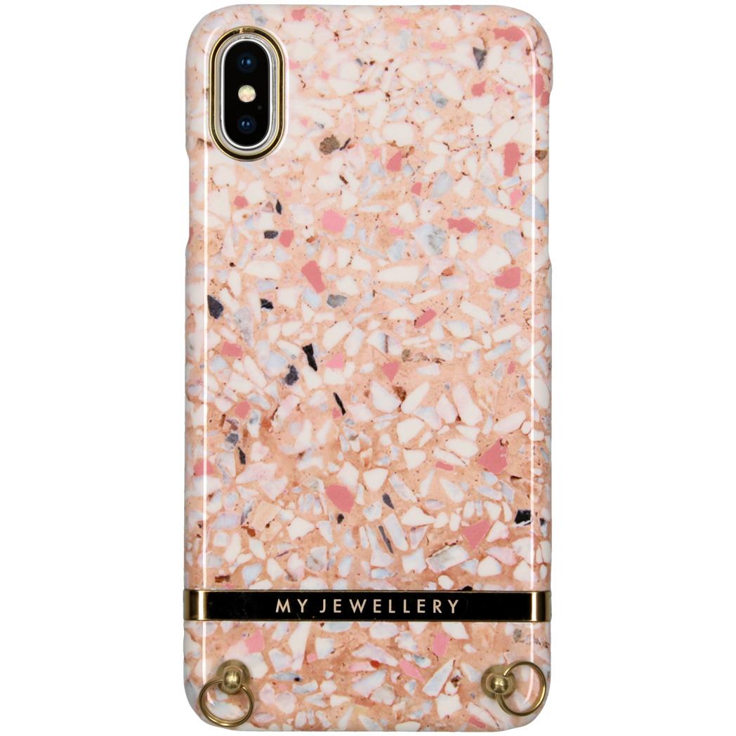 My Jewellery Design Hardcase Koordhoesje iPhone Xs Max - Pink Brick