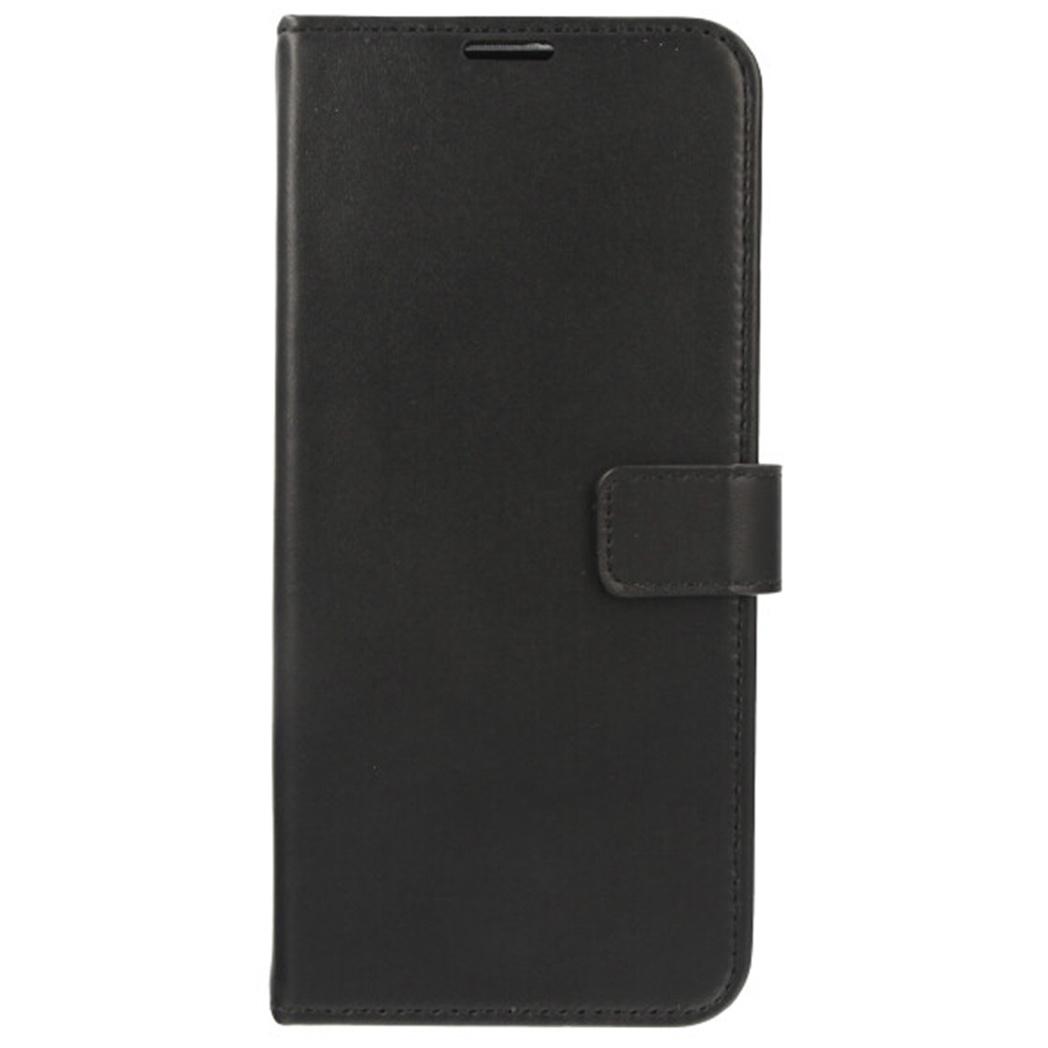 Valenta Leather Booktype Samsung Galaxy S21 Ultra - Zwart