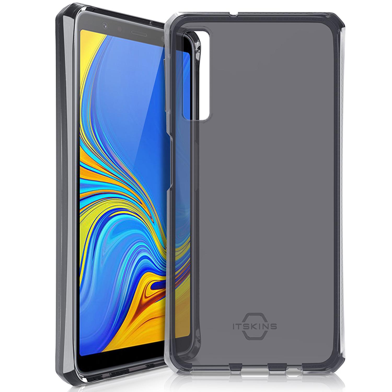 Itskins Spectrum Backcover Samsung Galaxy A7 (2018) - Zwart