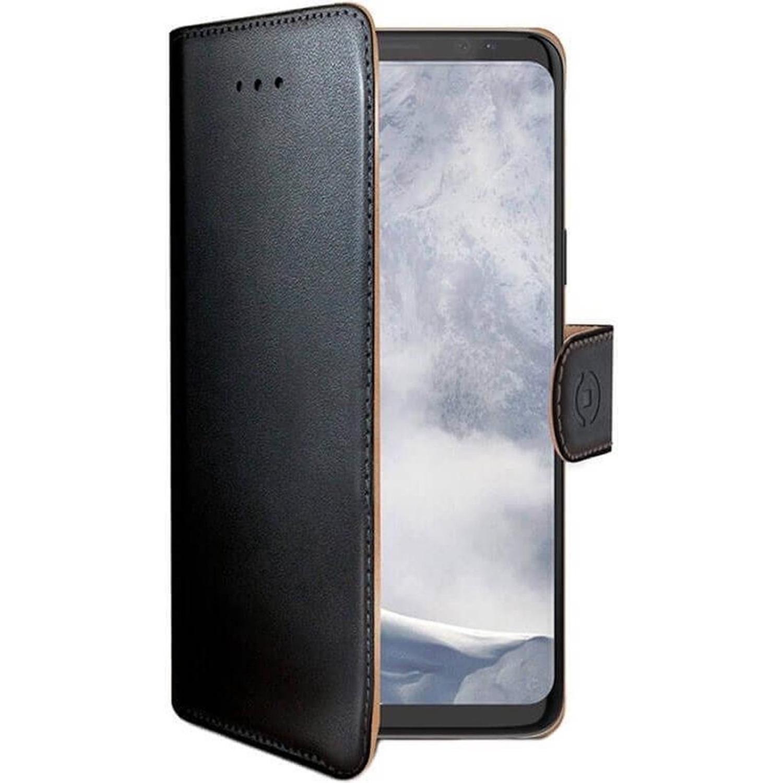 Celly Wally Booktype Samsung Galaxy S9 - Zwart