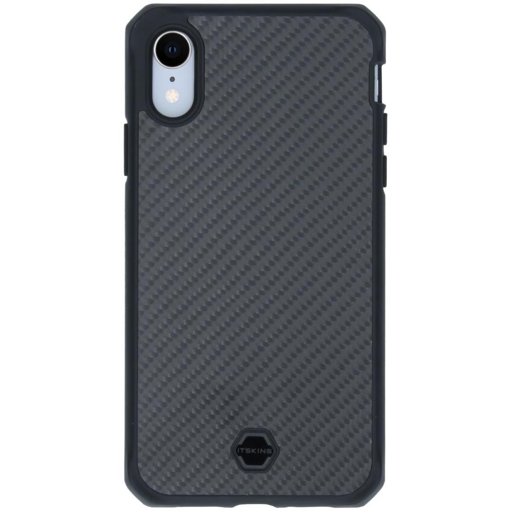 Itskins Hybrid Fusion Backcover iPhone Xr - Zwart