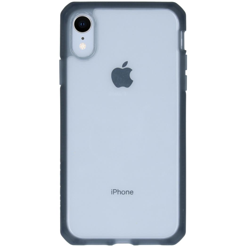 Itskins Hybrid MKII Backcover iPhone Xr - Zwart / Transparant