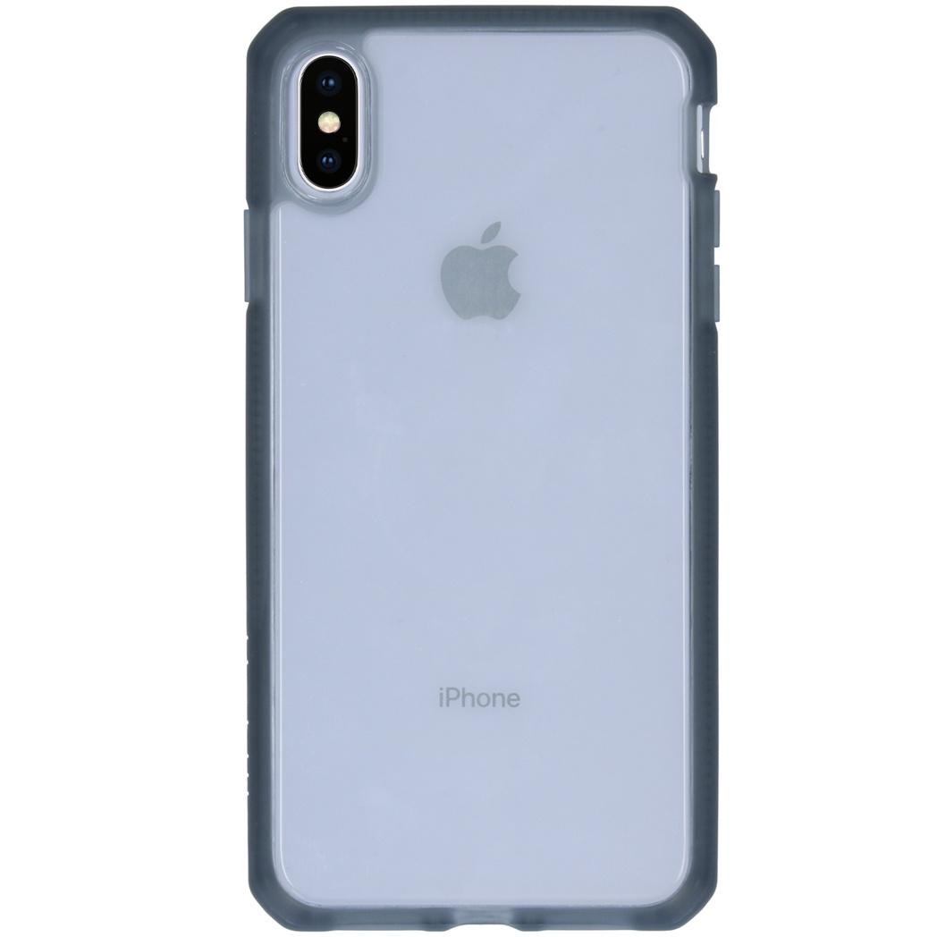 Itskins Hybrid MKII Backcover iPhone Xs Max - Zwart / Transparant