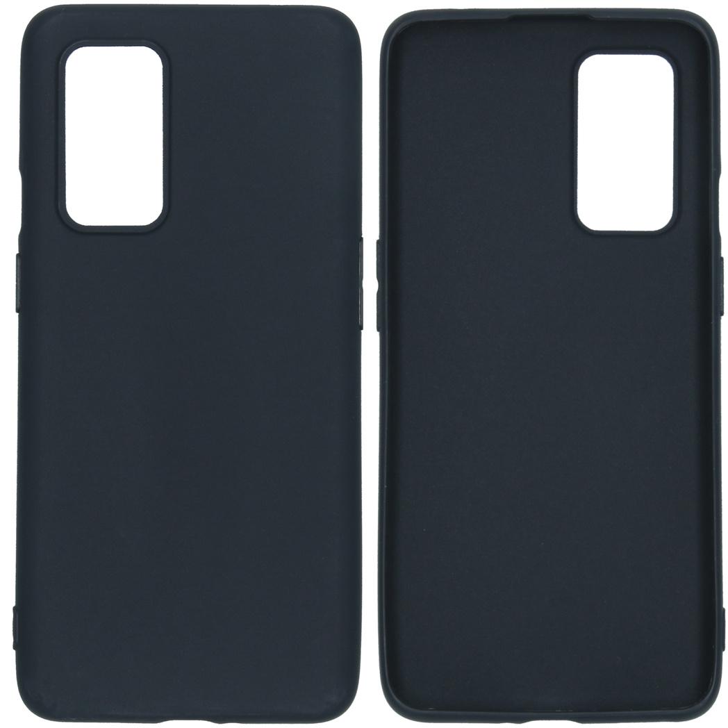 iMoshion Color Backcover OnePlus 9 - Zwart