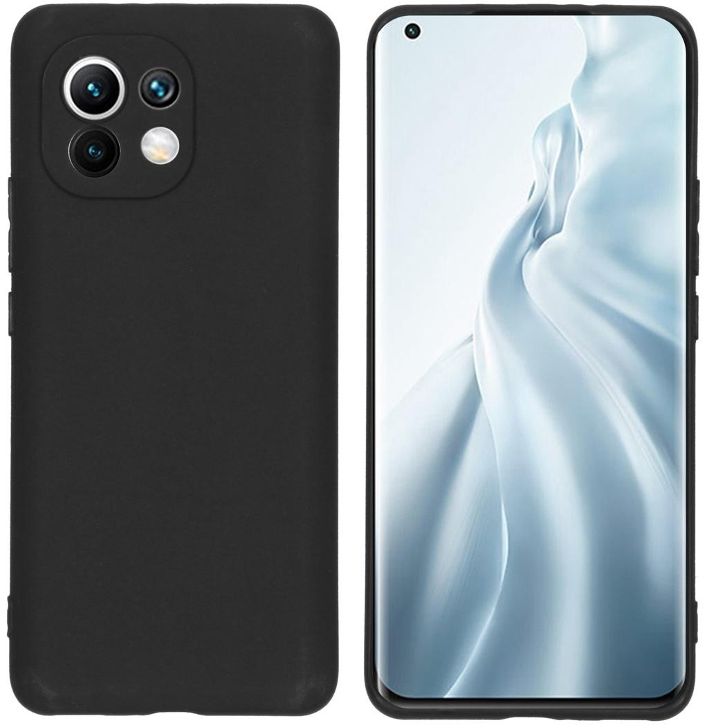 iMoshion Color Backcover Xiaomi Mi 11 - Zwart