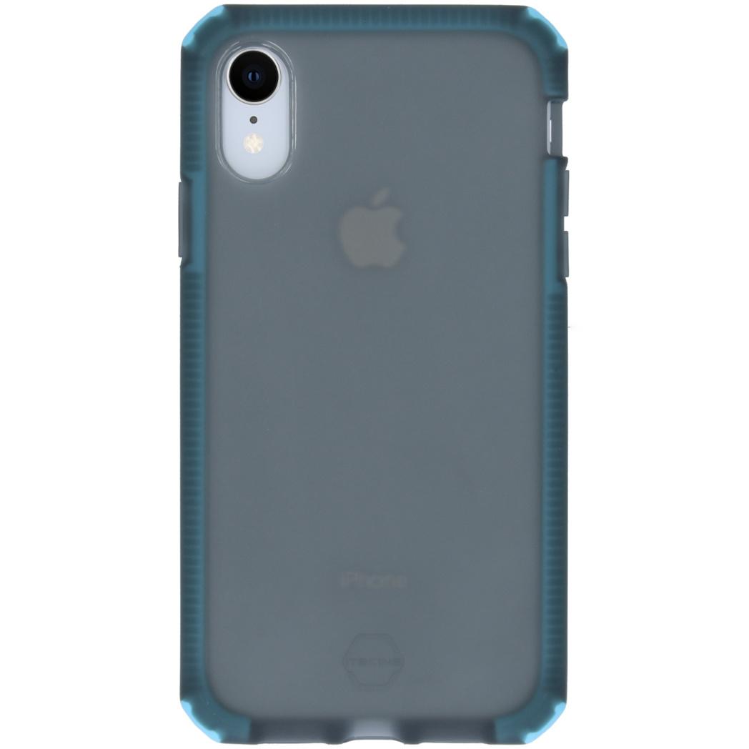 Itskins Supreme Frost Backcover iPhone Xr - Zwart / Blauw