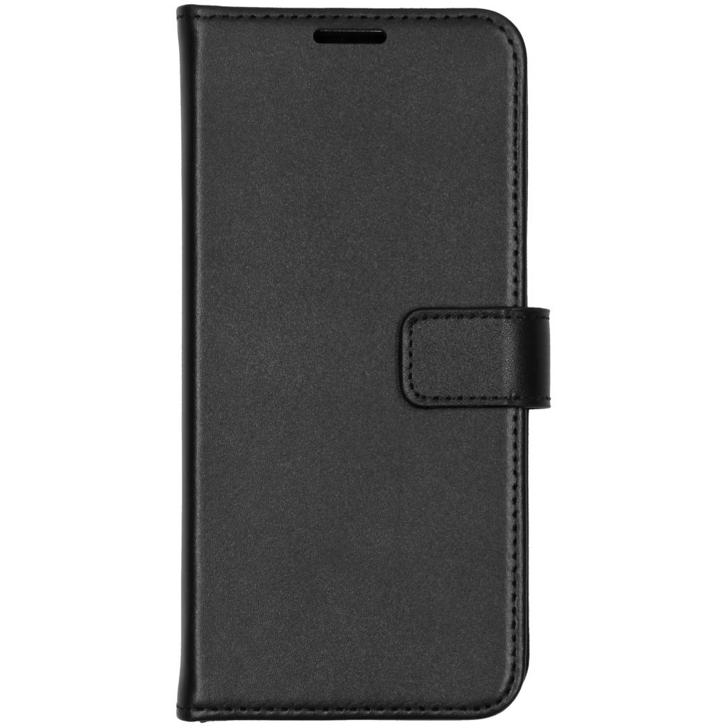 Valenta Leather Booktype Samsung Galaxy S21 - Zwart