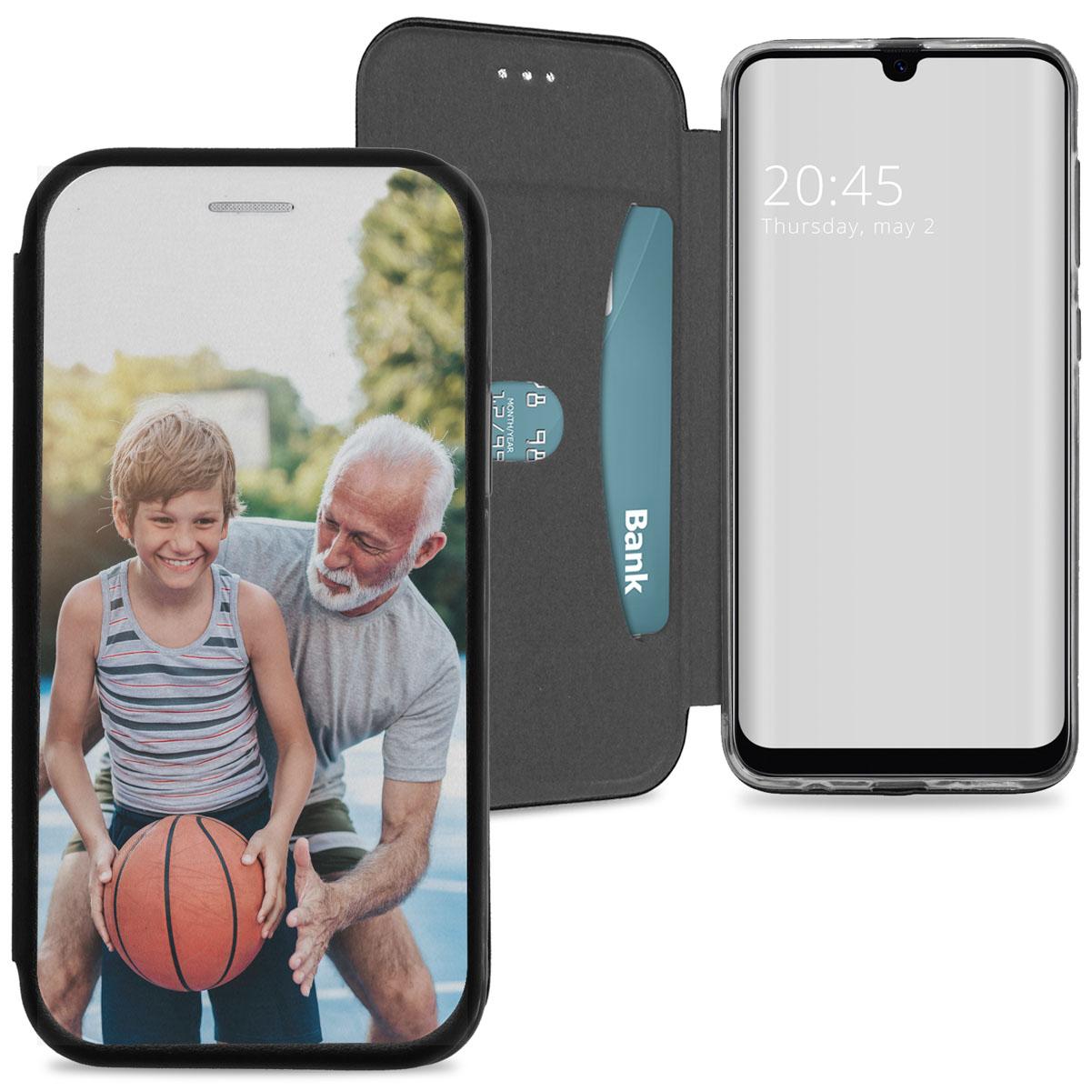 Samsung Galaxy A50 / A30s gel booktype ontwerpen (eenzijdig)