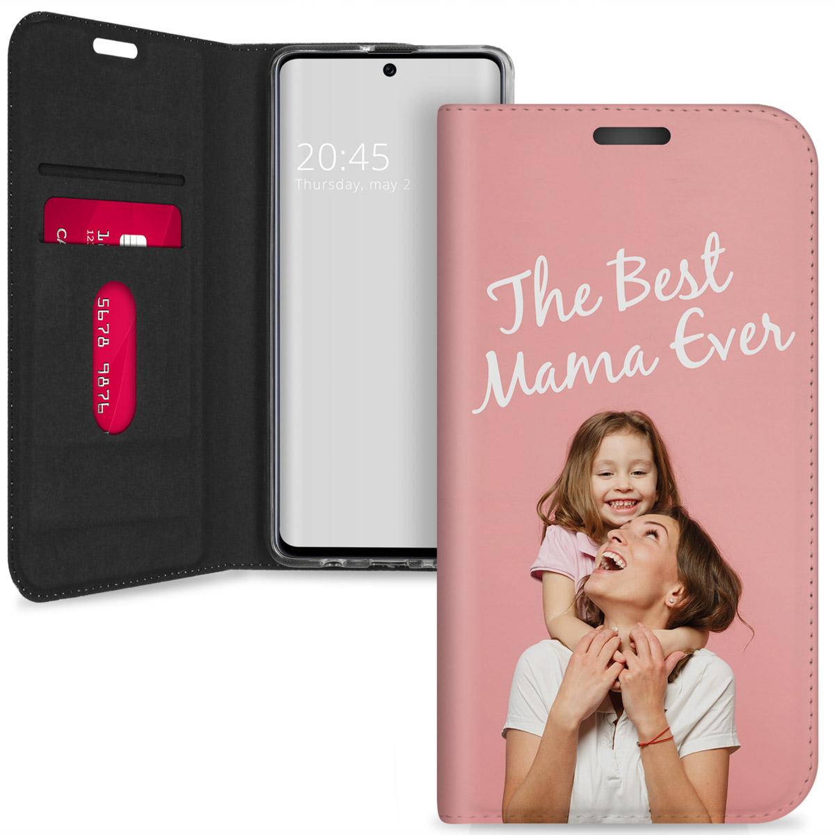 Ontwerp je eigen Samsung Galaxy A71 gel booktype hoes