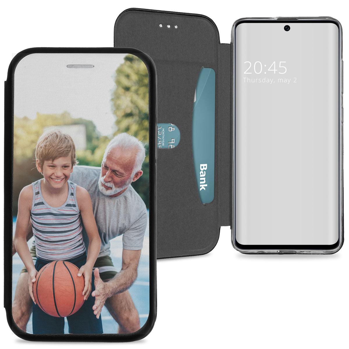 Samsung Galaxy A51 gel booktype ontwerpen (eenzijdig)