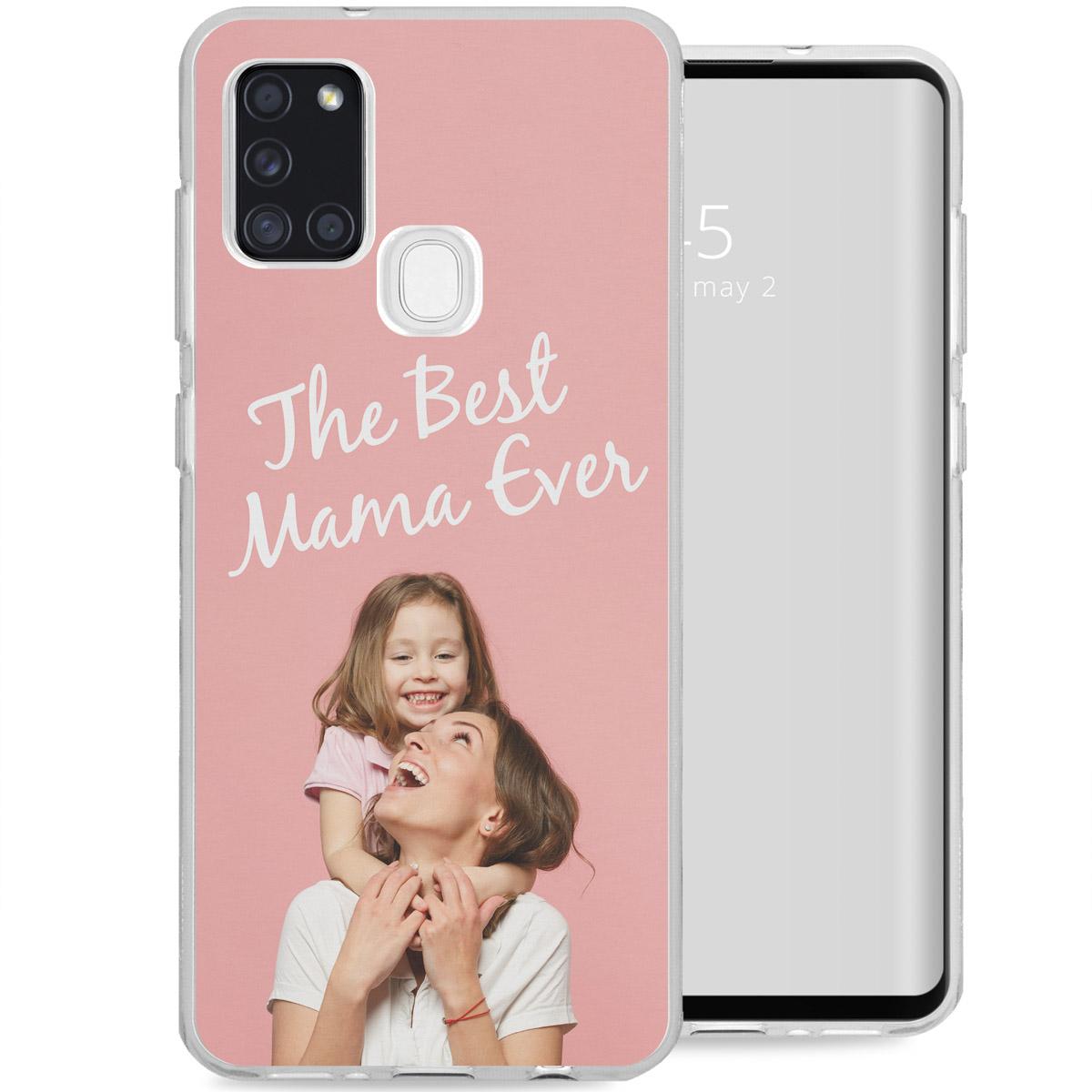 Ontwerp je eigen Samsung Galaxy A21s gel hoesje