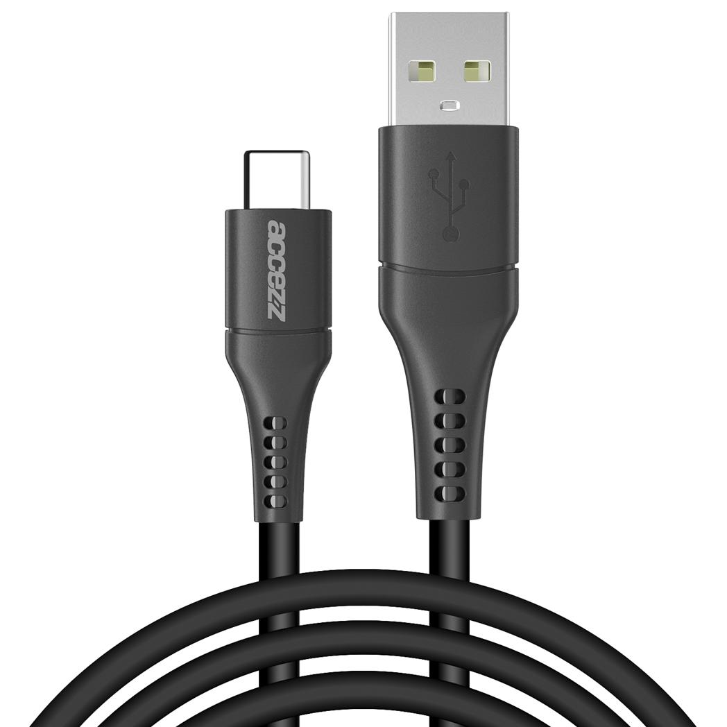 Accezz USB-C naar USB kabel - 2 meter - Zwart