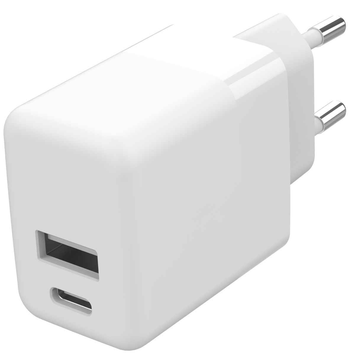 Accezz Wall Charger 20W + Power Delivery - Wit