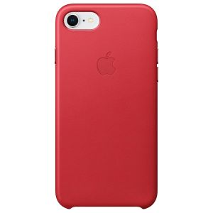 Leather Backcover iPhone 8 / 7 - Rood