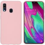 iMoshion Color Backcover Samsung Galaxy A40 - Roze