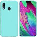 iMoshion Color Backcover Samsung Galaxy A40 - Mintgroen