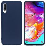 iMoshion Color Backcover Samsung Galaxy A70 - Donkerblauw