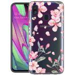 iMoshion Design hoesje Samsung Galaxy A40 - Bloem - Roze