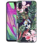 iMoshion Design hoesje Samsung Galaxy A40 - Jungle - Groen / Roze