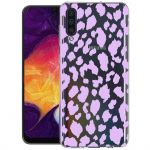 iMoshion Design hoesje Samsung Galaxy A50 / A30s - Luipaard - Paars
