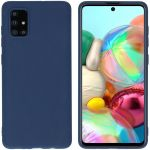 iMoshion Color Backcover Samsung Galaxy A71 - Donkerblauw
