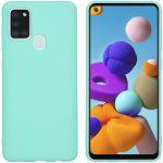 iMoshion Color Backcover Samsung Galaxy A21s - Mintgroen
