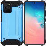 iMoshion Rugged Xtreme Backcover Samsung Galaxy S10 Lite - Lichtblauw