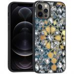 iMoshion Design hoesje iPhone 12 (Pro) - Grafisch - Goud Bling