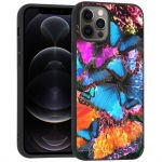 iMoshion Design hoesje iPhone 12 (Pro) - Jungle - Vlinder