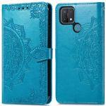 iMoshion Mandala Booktype Oppo A15 - Turquoise