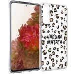 iMoshion Design hoesje Samsung Galaxy S21 - Luipaard - Bruin / Zwart