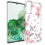 iMoshion Design hoesje Samsung Galaxy S21 Plus - Bloem - Roze