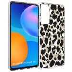 iMoshion Design hoesje Huawei P Smart (2021) - Luipaard - Goud /Zwart