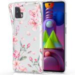 iMoshion Design hoesje Samsung Galaxy M51 - Bloem - Roze