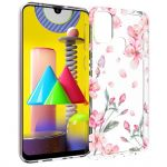 iMoshion Design hoesje Samsung Galaxy M31 - Bloem - Roze