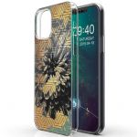 iMoshion Design hoesje iPhone 12 (Pro) - Grafisch - Bloem Goud