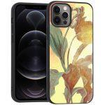 iMoshion Design hoesje iPhone 12 (Pro) - Bloem - Vintage
