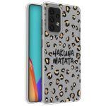 iMoshion Design hoesje Galaxy A52 5G/A52 4G - Luipaard - Bruin /Zwart
