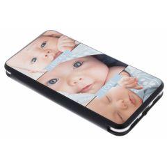 Huawei P8 Lite (2017) gel booktype ontwerpen (eenzijdig)