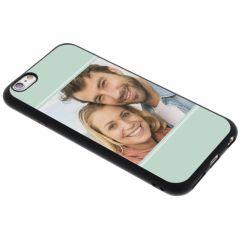 Ontwerp je eigen iPhone 6 / 6s gel hoesje - Zwart