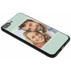 Ontwerp je eigen iPhone 8 Plus / 7 Plus gel hoesje - Zwart