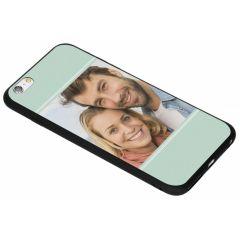 Ontwerp je eigen iPhone 6(s) Plus gel hoesje - Zwart
