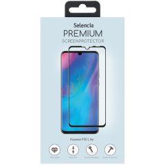 Selencia Gehard Glas Premium Screenprotector Huawei P30 Lite - Zwart