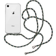 iMoshion Backcover met koord iPhone Xr - Groen