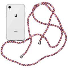 iMoshion Backcover met koord iPhone Xr - Paars