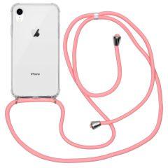 iMoshion Backcover met koord iPhone Xr - Roze