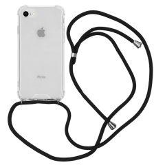 iMoshion Backcover met koord iPhone SE (2020) / 8 / 7 - Zwart