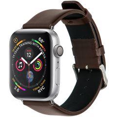iMoshion Effen Lederen bandje Apple Watch Series 1 t/m 6 / SE - 38/40