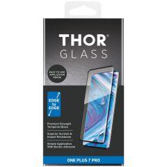 THOR Full Screenprotector + Apply Frame OnePlus 7 Pro - Zwart